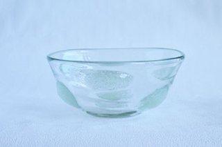 泡水玉 / 丸鉢 / 中 - 吹きガラス工房 一星 -