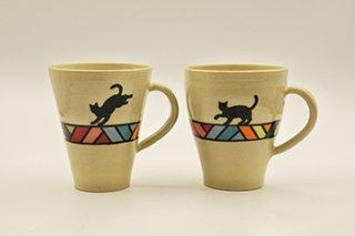 マグカップ / ドリーム / 丸台形 / 2種 - 北村陶房 -