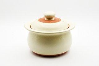 ご飯用土鍋 / 2-3合用(白)  - 廣川 純 -