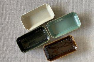 隅切角鉢 / 4種 - 矢口 桂司 -