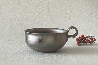 丸いスープカップ  - �木 純 -