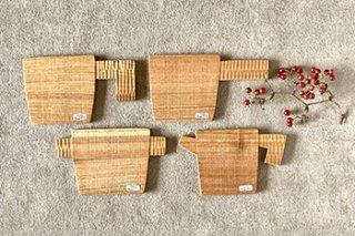 木のコースター / 4種 - icura工房 -