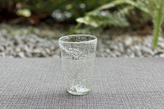 うす泡グラス / 小 - 吹きガラス工房 一星 -