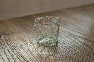 うす泡グラス / RG - 吹きガラス工房 一星 -