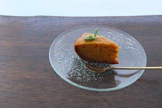 うす泡皿 / オリーブグリーン - 吹きガラス工房 一星 -