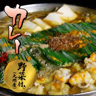 もつ鍋 野菜付き【カレー味】
