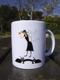 《冒険する天使》マグカップ