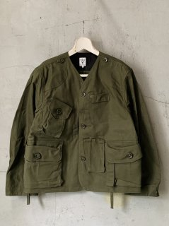 SOUTH2 WEST8 Tenkara Jacket - Oxford / Paraffin Coating