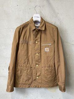eYe COMME des GARCONS JUNYA WATANABE MAN Carhartt カーハートWネーム 製品染めジャケット