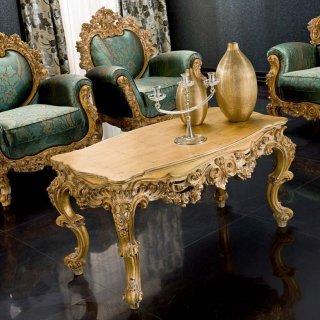 silik シリック テーブル センターテーブル  Art.8845 アンティーク家具 ロココ調