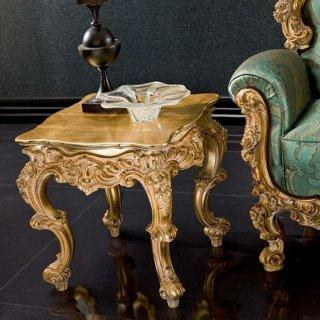 silik シリック テーブル サイドテーブル  Art.8847 アンティーク家具 ロココ調