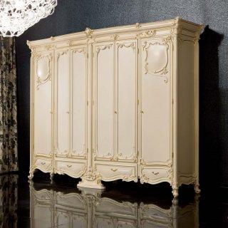 silik シリック ワードローブ 収納 棚  Art.7750 アンティーク家具 ロココ調