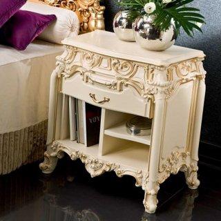silik シリック ナイトテーブル Art.7753 アンティーク家具 ロココ調