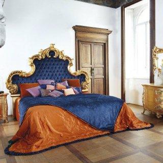 silik シリック キングベッド マットレス別 Art.7782_4I アンティーク家具 ロココ調  クラシック