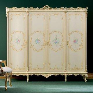 silik シリック ワードローブ 収納 棚  Art.700 アンティーク家具 ロココ調