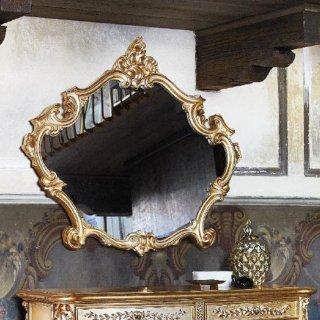 silik シリック ミラー Art.714 アンティーク家具 ロココ調