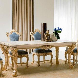 silik シリック テーブル ダイニングテーブル  Art.9965 アンティーク家具 ロココ調
