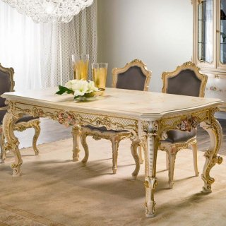 silik シリック テーブル ダイニングテーブル  Art.945 アンティーク家具 ロココ調