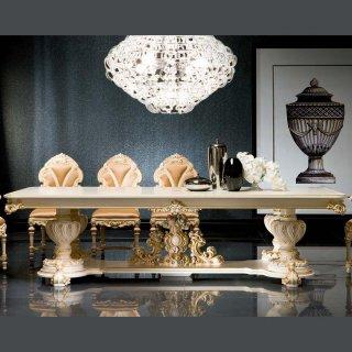 silik シリック テーブル ダイニングテーブル  Art.9956 アンティーク家具 ロココ調