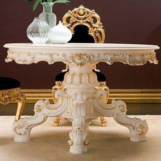silik シリック テーブル ラウンドテーブル  Art.994 アンティーク家具 ロココ調