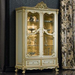 silik シリック ガラスキャビネット Art.9961 アンティーク家具 ロココ調