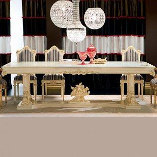 silik シリック テーブル ダイニングテーブル  Art.9936 アンティーク家具 ロココ調