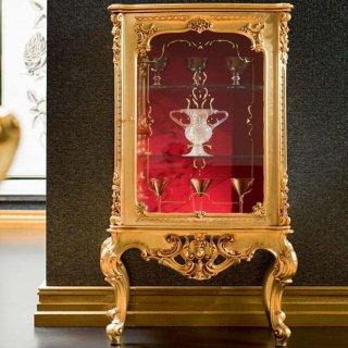 silik シリック ガラスキャビネット Art.508 アンティーク家具 ロココ調