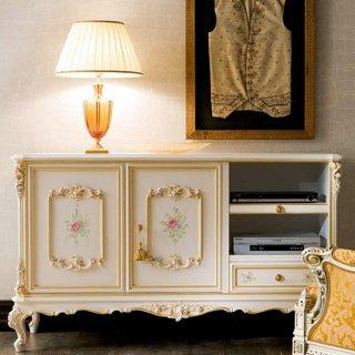 silik シリック テレビボード Art.596 アンティーク家具 ロココ調