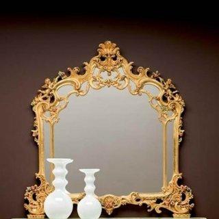 silik シリック ミラー Art.100 アンティーク家具 ロココ調