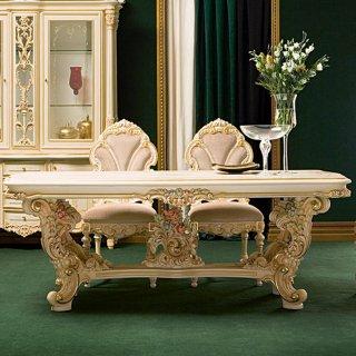 silik シリック テーブル ダイニングテーブル  Art.9955 アンティーク家具 ロココ調