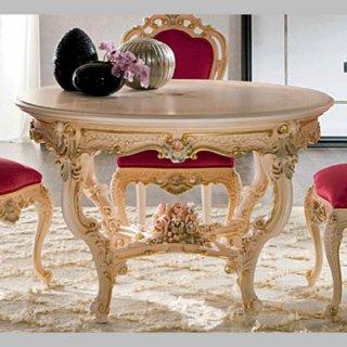silik シリック テーブル ラウンドテーブル  Art.904 アンティーク家具 ロココ調