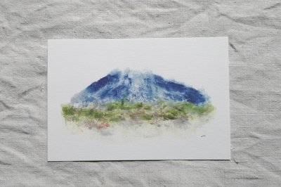 AOKI,hayato - Mt. Iwaki postcard