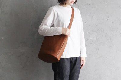 garota - シンプルバッグ〈L・茶〉