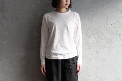 homspun - 天竺長袖Tシャツ〈サラシ〉