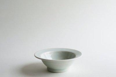 五十嵐元次 - 5寸リム鉢〈白磁〉