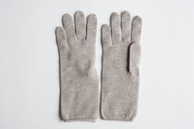 Gluck und Gute - カシミヤ混シルク二層手袋〈ベージュ〉