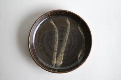 津軽千代造窯 - 流掛7寸カレー皿