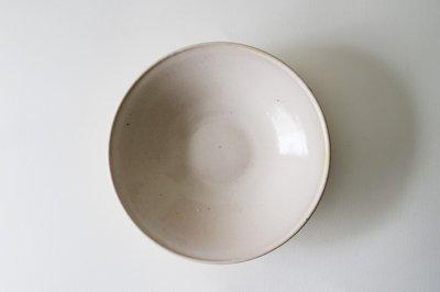 関口憲孝 - 8寸浅鉢〈乳白〉