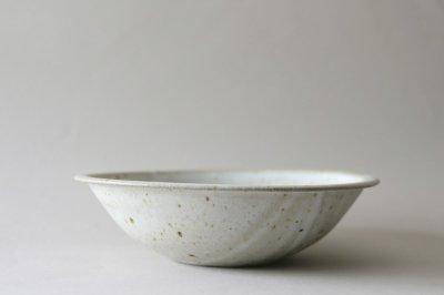 関口憲孝 - 7寸鉢〈白釉〉