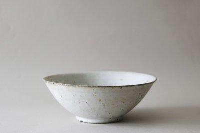 関口憲孝 - 6寸鉢〈白釉〉