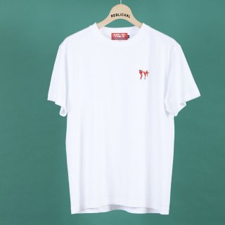 アリストとリス2(トゥー)Tシャツ/ホワイト
