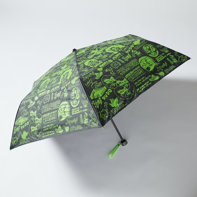 LUCHA フライヤー折りたたみ傘