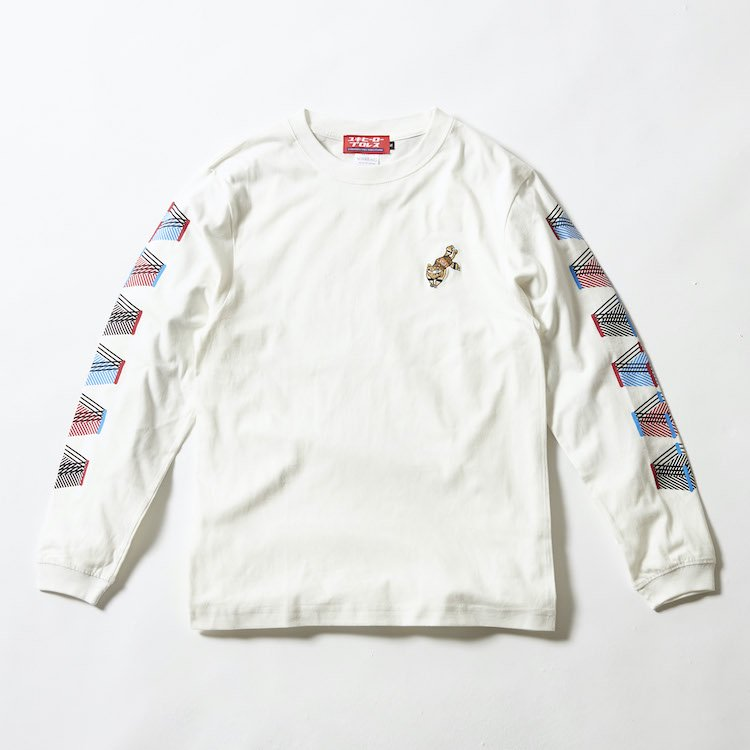 オリデルちゃん刺繍ロングTシャツ