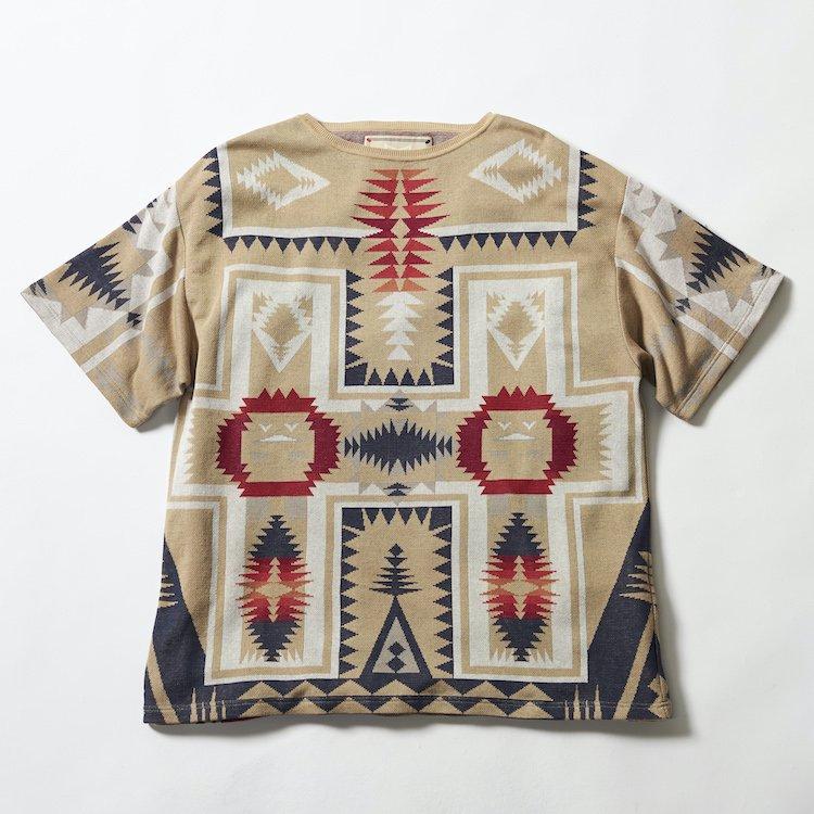 Native ピグモン ジャカードカットソー