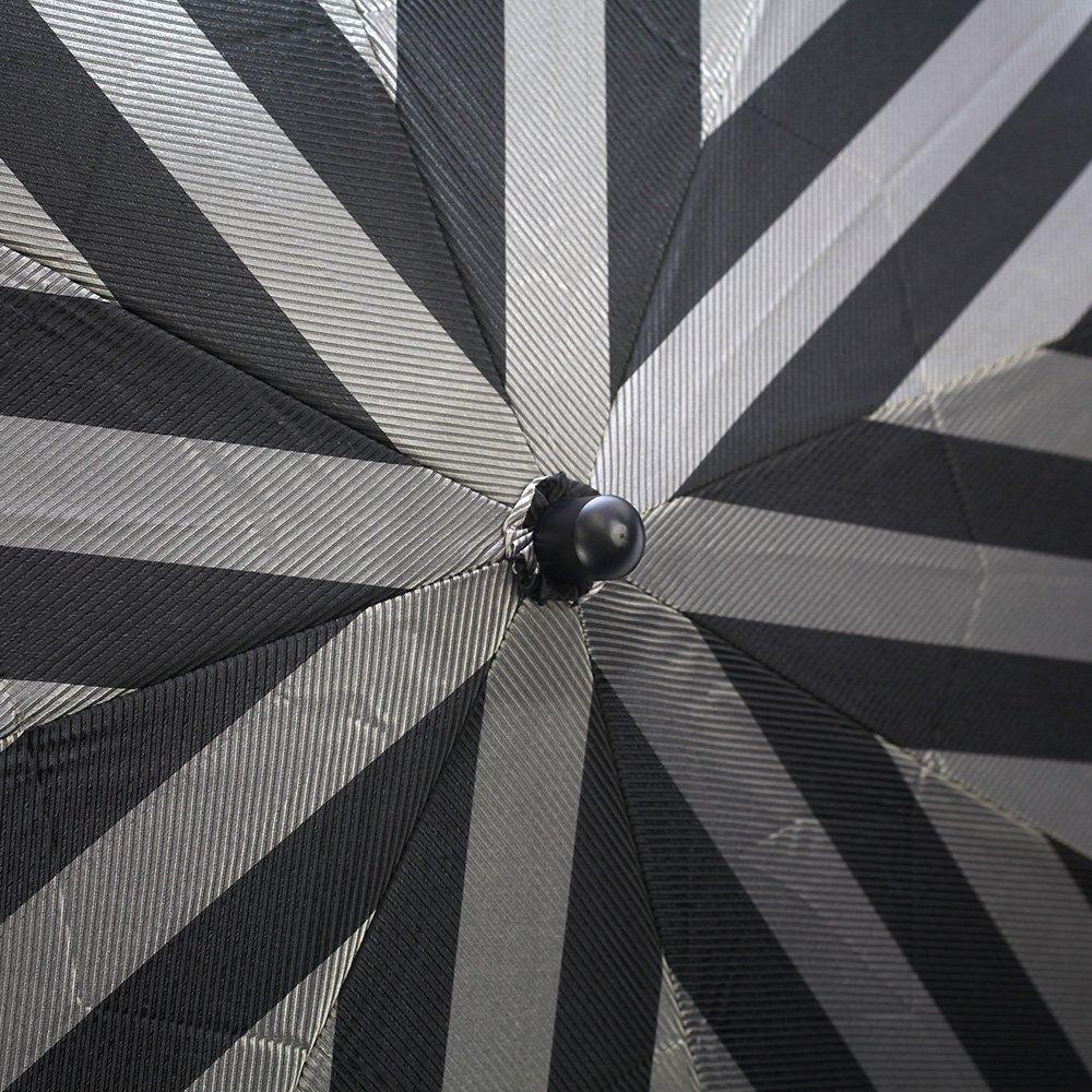 ワイドストライプ 折りたたみ傘 詳細画像5