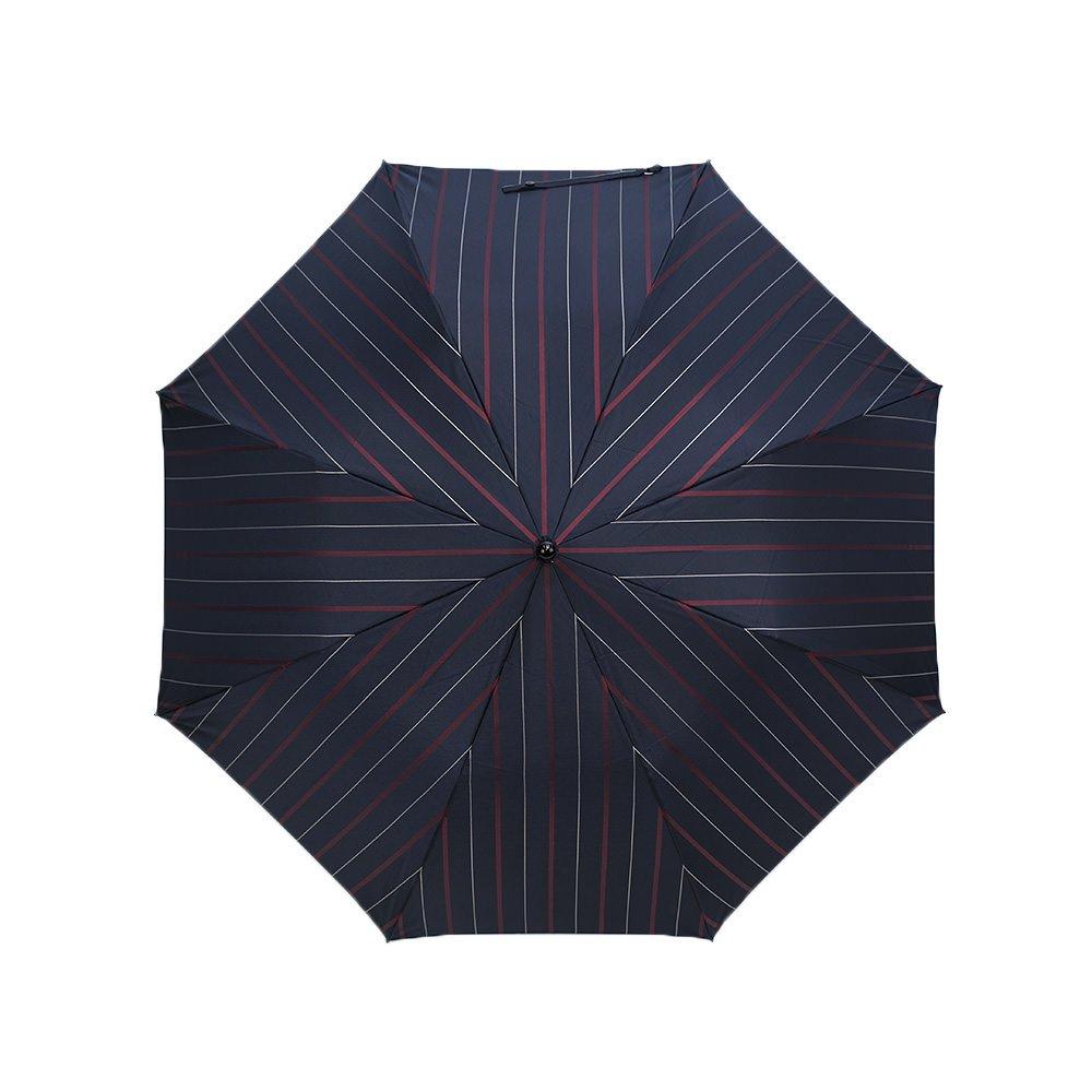 チョークストライプ 折りたたみ傘 詳細画像5