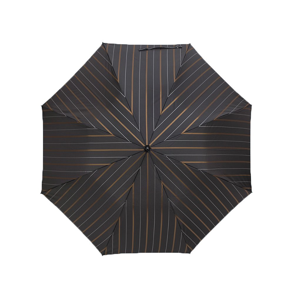 チョークストライプ 折りたたみ傘 詳細画像6