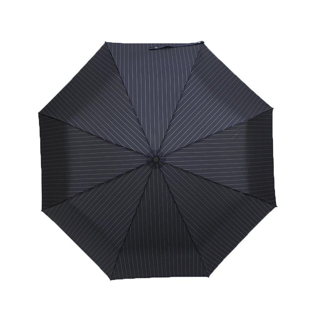 自動開閉 ピンストライプ 折りたたみ傘 詳細画像5