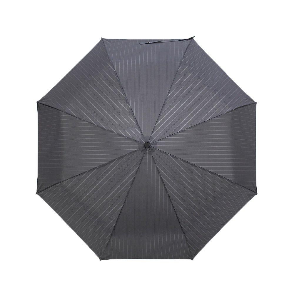 自動開閉 ピンストライプ 折りたたみ傘 詳細画像6