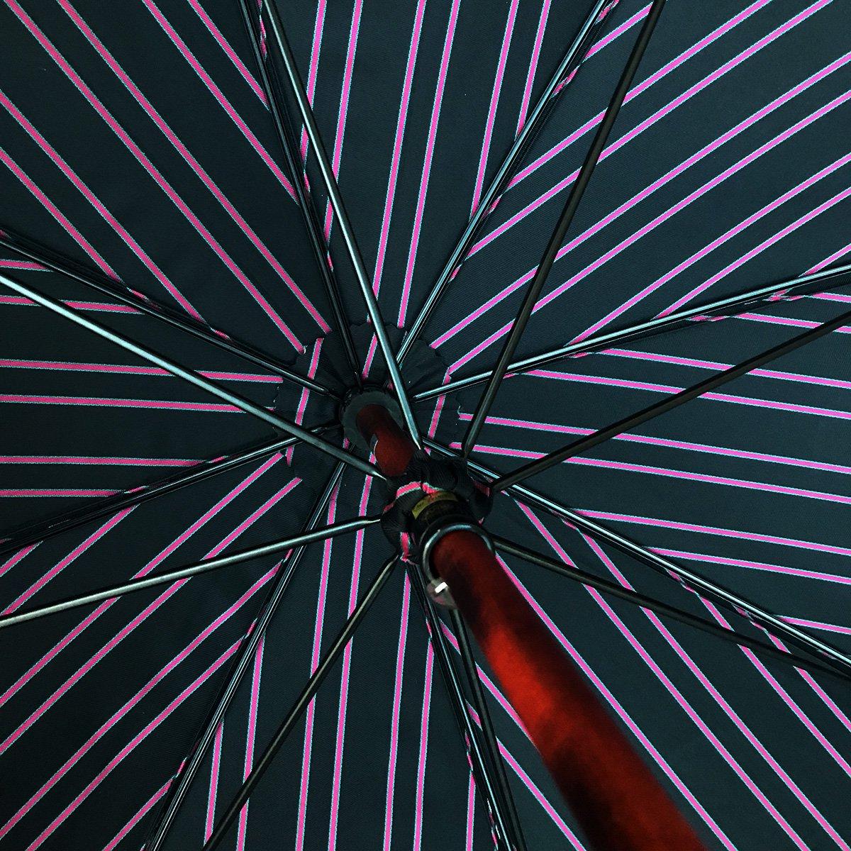 Wフェイス ストライプ 折りたたみ傘 詳細画像10